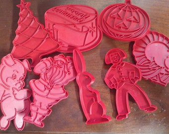 Vintage Tupperware Cookie Cutters