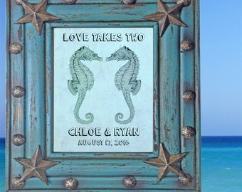 Unique Wedding Gift, Funny Wedding Gift, Custom Date Sign, Couples Name Sign, Wedding Art Print, Personalized Anniversary Sign, Couples Gift