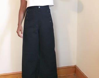 Vintage US Navy Uniform Sailor Pants