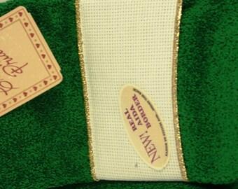 Birdhouses Charles Craft Cross Stitch Towel