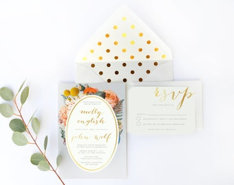 Gold envelope liner, White and gold wedding, Gold foil invitation, lined envelope, a7 envelope liner, modern wedding envelope