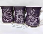 RESERVED FOR bettiboo5: Purple Diamond Mug