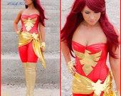 Custom Phoenix Costume with Bootcovers