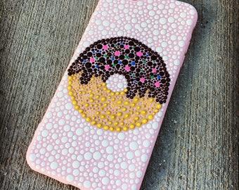 Hand painted Doughnut iPhone Case