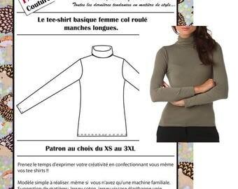 Boss T-shirt woman Turtleneck & long sleeves
