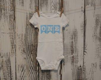 First birthday onesie - Size: 18 months