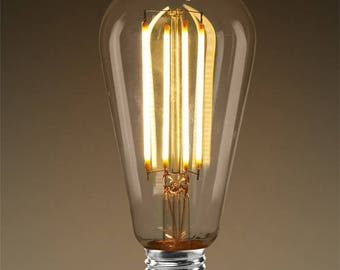 5W LED Edison Bulb 430 Lumens 40 Watt Equivalent, Fully Dimmable, For Fixture Customers Only