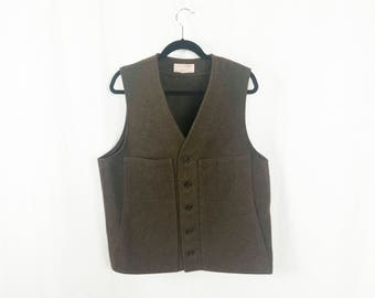Vintage Filson Wool Outdoor Hunting Vest