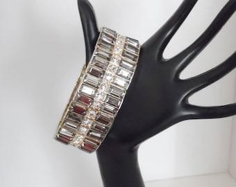 Rhinestone Panel Bracelet