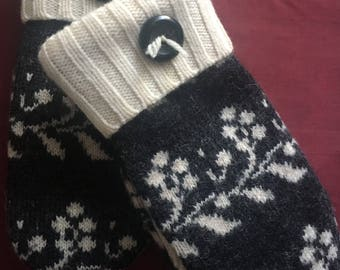 G20   Kids size 4-6   Felted wool mittens