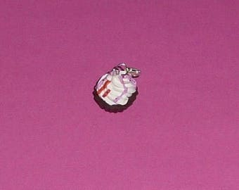 """1 """"Cupcake and pink delicacies"""" Charms fimo"""