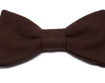 Bow tie chocolate straight edges