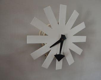 Mid Century George Nelson for Howard Miller Asterik wall clock