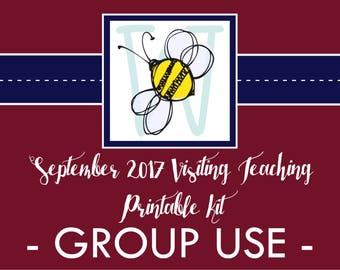 GROUP USE: September VT Printable Kit