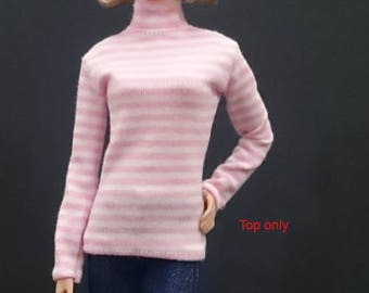 Top for Barbie,Muse barbie,Tall barbie, FR, Silkstone -No. 180115-5