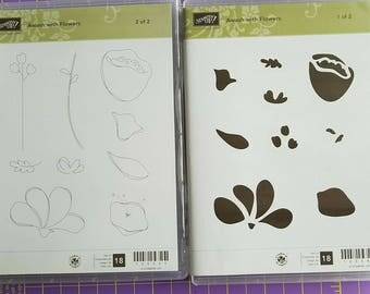 Stampin Up Awash with Flowers stamp set