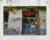 Guero's - Storefront, Rustic, Industrial, Photography - Austin, TX - Fine Art Print - Canvas Gallery Wrap - Metal Print