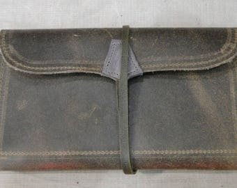 100% leather cowhide leather and hand made diary