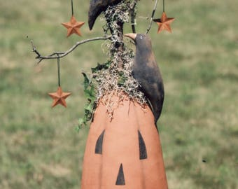 Primitive PATTERN A Pumpkin to Crow About