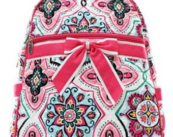 Personalized Geometric Backpack - Embroidered Custom Backpack