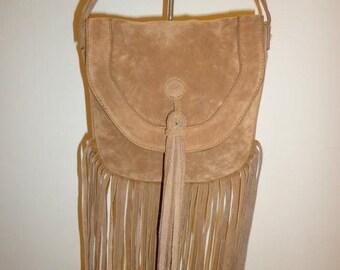 50% OFF Beautiful 1970's Fringe Crossbody/Shoulder Bag