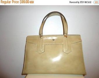 The SALE Is On SALE Must See Beautiful Jean Fogel Vintage Leather Handbag