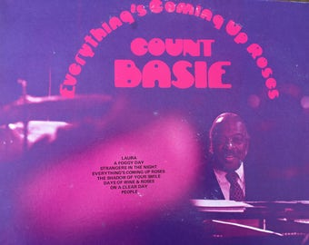 Count Basie - Everything's Coming Up Roses - vinyl record
