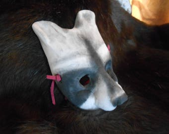 Racoon BJD Mask