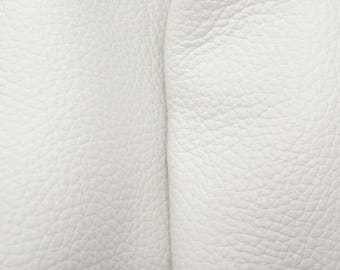"Rustic Off White Tiger Leather New Zealand Deer Hide 12"" x 12"" Pre-cut 3-3 1/2 ounces-21 DE-66141 (Sec. 5,Shelf 3,B)"