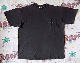 Vintage 90's Camel Silhouette pocket T shirt, size Large cigarette promo smokes