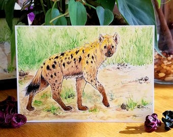 Hyena - 5x7 Print