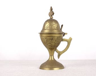 Brass Censer, Religious Censer, Religious Art, Catholic Censer, Incense Burner, Religious Gift, Orthodox Censer, Church Censer, Church Decor
