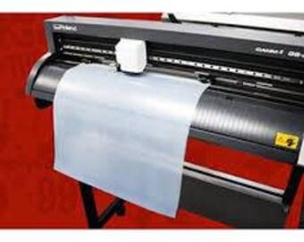 Stahls' textile foil CAD-CUT heat press adhesive 10 foot roll