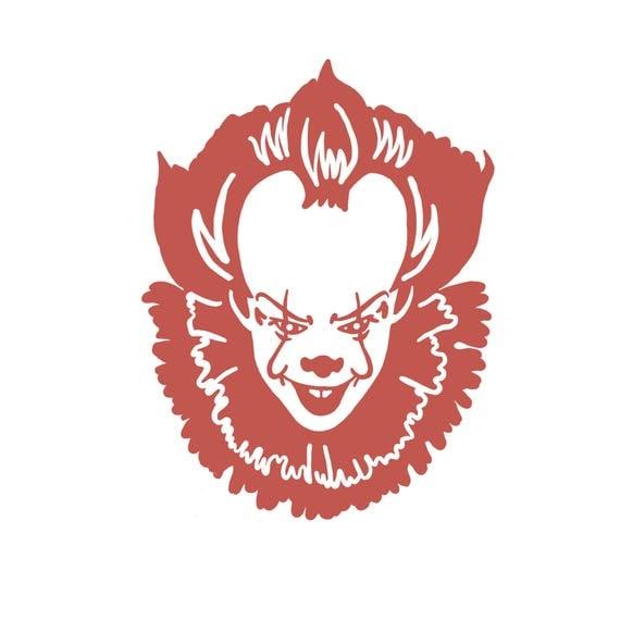 Pennywise It 2017 Bumpersticker Sticker Horror Movie