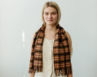 vintage pendleton wool scarf | able shoppe