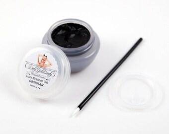 Luxe Eyeliner Gel - OBSIDIAN Black - Vegan
