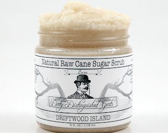 Men's Luxe Raw Cane Sugar Scrub - 4 fl. oz. Jar