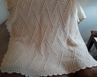 Ladders & Lace Afghan