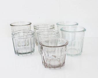 Glass Jam Jar, French Jam Pot, French Confiture Pot, French Jelly Jar, Antique Jam Pot, Antique Jelly Jars, Jam Jars Vintage, Jelly Pot D540