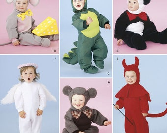 Simplicity 2506 Six Halloween Costumes for Toddlers