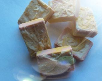 "Salt Soap-ALL Natural-""Bali-Bird"" Spa Soap-PALM FREE-Luxury Pure Escape Soap made with Sea Salt + Coconut Milk-Essential Oil Soap"