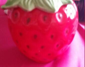 Sweet Strawberry Jar *Jams, Jellies, Sugar jar*