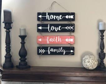 Arrow Family Wall Hanging