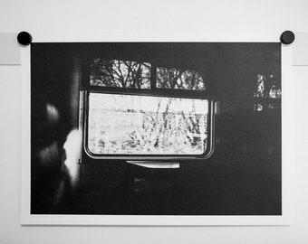 Wanderlust  - analogue film photography riso print