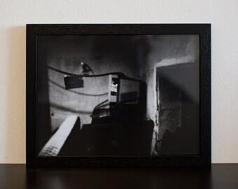 Lightsick II - handmade photographic silver gelatin print - analogue photography