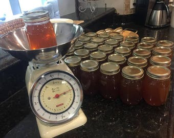 NAKED MOUNTAIN HONEY 1.5lb - Raw & Unprocessed Honey / Soddy Daisy, Tn. (Chattanooga area)