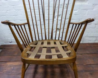 SOLD*******Genuine Ercol Armchair available for Bespoke Upholstery