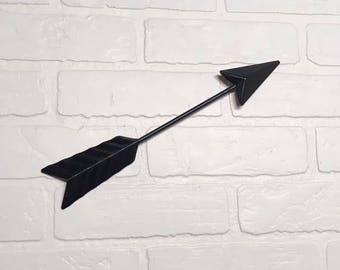"Arrow Wall Decor/12"" Arrow/Black Arrow/Arrow/Metal Arrow/Bohemian Decor/Arrow/Arrows/Tribal/ Indian/ Southwest/Arrow Art/Trendy/Boho"