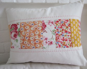 Handmade  Patchwork Cushion Cover
