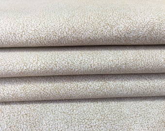 White natural leather print, white genuine sheep lambskin leather, natural lamb skin, white genuine leather material, 426, 0.7 mm